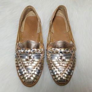 Shoes - Womens Leather Huarache Sandals